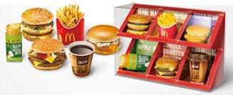 McDonald's FOOD STRAP/マクドナルド フードストラップ 第1弾 【全6種セット】 数量限定ケース付 コンプリートボックス (食玩)