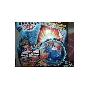 Skyress Blue Bakugan Battle Brawler Booster Pack with Metal Card