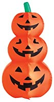 Citi Talent 90-223-087 Halloween Inflatable Lawn Decoration, Stacked Pumpkins, Lighted, 48-In. by Citi Talent