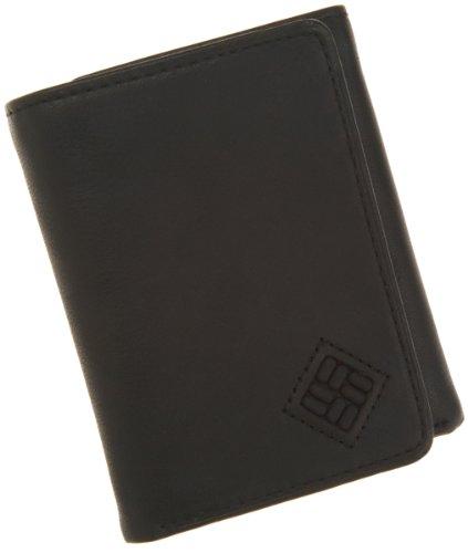 Columbia Men's Tri Fold Wallet,Black,One Size