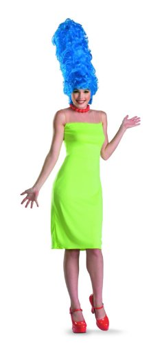Disguise Women's The Simpsons Marge Deluxe Costume