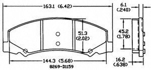 Disc Brake Pad and Hardware Kit Z17 Evolution Plus Rear POWER STOP 17-905