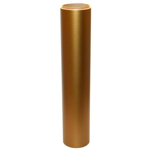 Vinyl Oasis Craft & Hobby Vinyl - Matte Copper Metallic W/ Removable Adhesive - 12 In. X 10 Ft. Roll