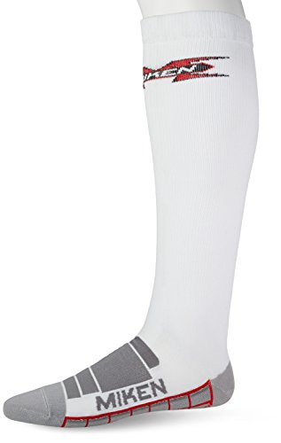Miken VO2FX Peformance Compression Sock (White, X-Large)