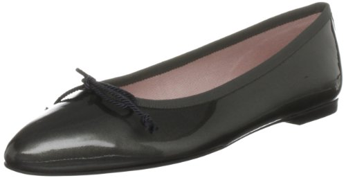 Pretty Ballerinas Women's 39470 Dark Grey Patent Comfort 39470 6 UK