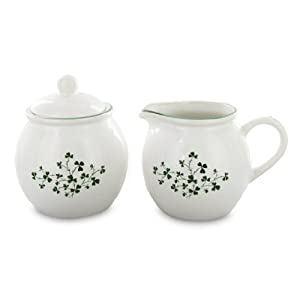 English Tea Store Shamrock Sugar & Creamer Set by English Tea Store