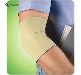 Neoprene Elbow Sleeve, Small, Beige