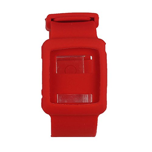 Suppion Special Design Silicone Replacement Watch Wrist Band Case For Ipod Nano 6Th 6G Red