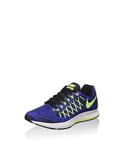 Nike Sneaker Air Zoom Pegasus 32 Print blau/gelb/weiß