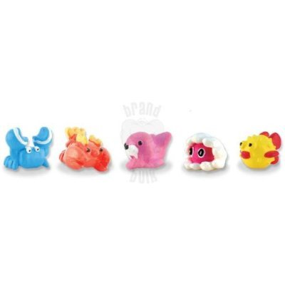 SEA MANIA 2 Collection - Set of 5 RARE Squishies W/ GAME CODES FOR SQWISHLAND WEBSITE