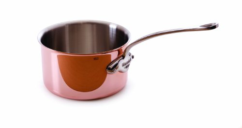 Mauviel Made In France M'heritage 150s 6527.01 0.4-Quart Butter Warmer with Stainless Steel Handle