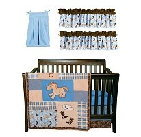 Cowboy Baby Bedding 5031 back