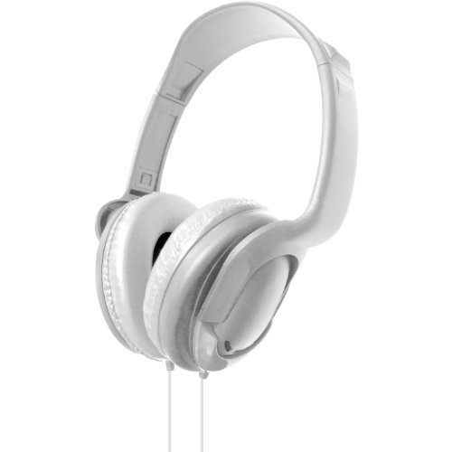 Vibe Vs-723-White Dj Style On Ear Stereo Headphones (White)