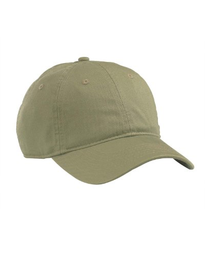 Econscious Organic Cotton Twill Unstructured Baseball Hat, Jungle, One Size front-295468