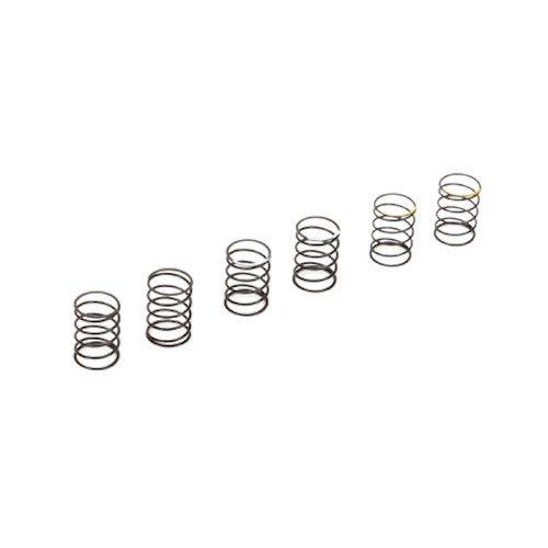Vaterra VTR233029 Upper Shock Springs(6) (Soft/2 Medium/2 Hard/2): 1/10 Ascender - 1