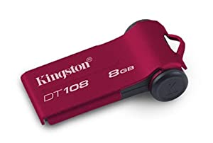 Kingston DT108/8GB Datatraveler 108 - Memoria USB 8192 MB