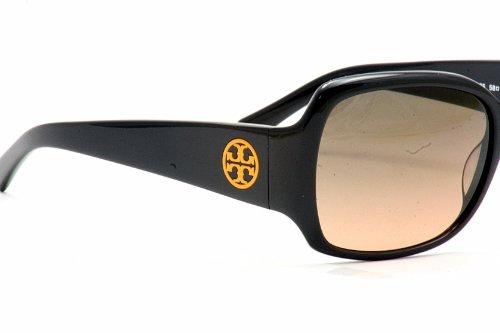 Tory BurchTory Burch 7004 Sunglasses 501 95 Black Grey Orange Fade
