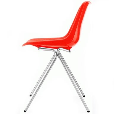 Robin Day Polyside Chair (Orange)
