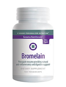 D'Adamo Personalized Nutrition Bromelain 180 Vcaps