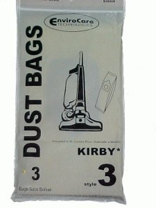 Kirby Style 3 Vacuum Cleaner Bags - 3 pack - Generic