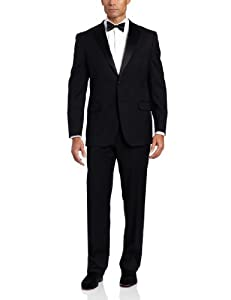 Joseph Abboud 2 Button Side Vent Tuxedo With Flat Front Pant