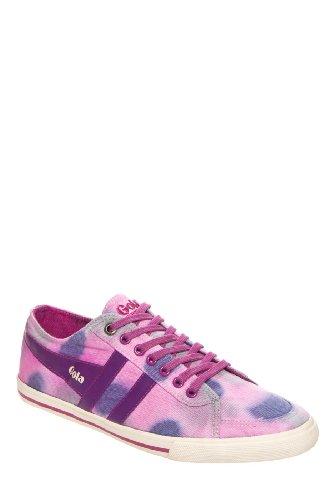 Gola Women's Quota Dye CLA187 Fashion Sneaker,Plum/Purple/Pink,9 M US