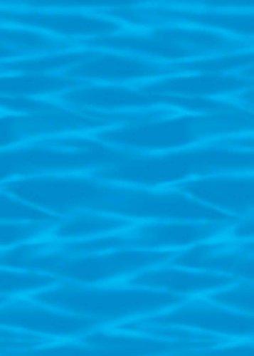 Ocean Blue Room Roll front-506649