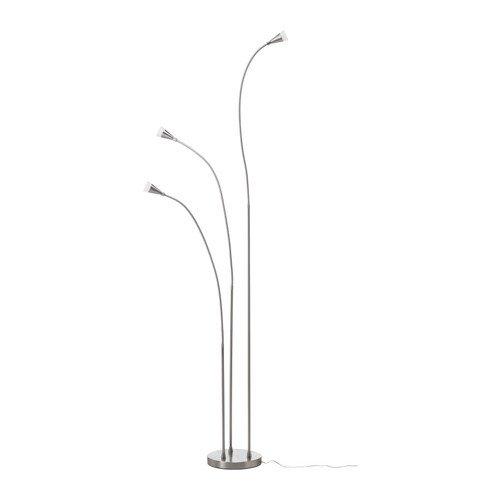 Ikea Tived Led Floor Lamp Nickel Plated Peter N Rodriguezime