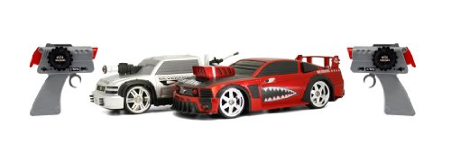 Battle Machines Remote Control Cars Laser Tag (Twin Pack)