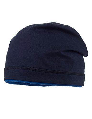 MaxiMo - Jersey Beanie, Maglia per bambini e ragazzi, blu (dunkelmarine/enzian 1150), 53 cm (Taglia produttore: 53)
