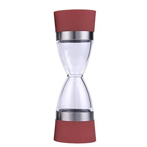 aihometm manuale Macina Sale Pepe Spezie Dispenser spezie smerigliatrice spezie Condimento Rettifica smerigliatrice macchina da cucina Strumenti Red