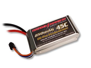 Thunder Power RC G6 Pro Performance 45C 850mAh 3-Cell/3S 11.1V Lipo Battery