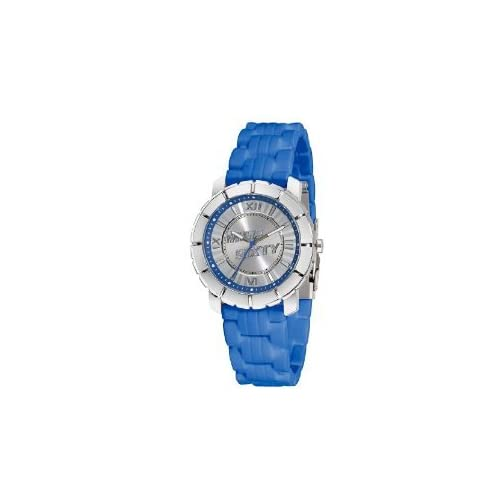 Miss Sixty ミスシックスティー Ladies Watch Sij002 In Collection Star, 3 H and S, White Dial and Blue Strap レディス 女性用 腕時計: 腕時計[並行輸入品]