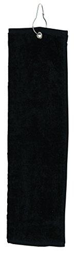 Bags for LessTM Tri-Fold Golf Towel Black