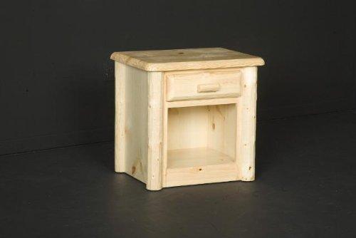 Viking Log Furniture Northwoods 1 Drawer Nightstand