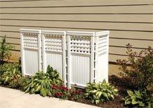 Outdoor screen enclosure 4 pc pk outdoor for Garden enclosures screens fences