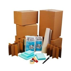 Kitchen Moving Boxes Kit # 2 Move your larger Kitchen: