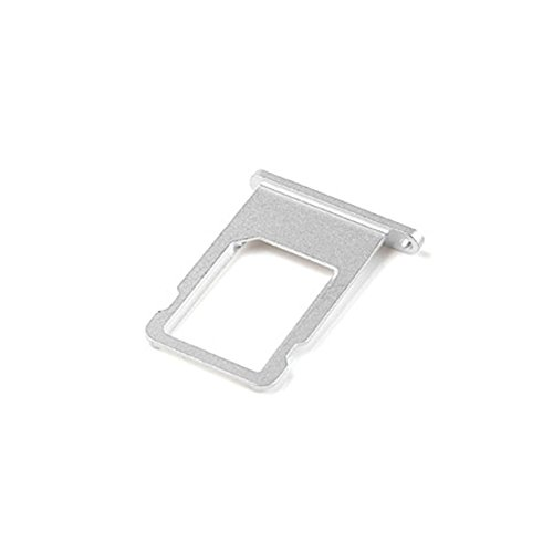 Ewparts SIM Card Tray Replacement for Iphone 6 4.7 Inch (Silver) (Iphone 6 Tray compare prices)