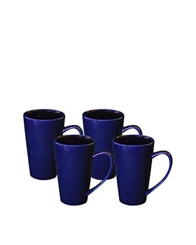 10 Strawberry Street Set of 4 Oversized 24-Oz. Plum Latte Mug