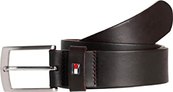 Tommy Hilfiger - Ceinture - Homme - Marron (066 Testa Di Moro-Eur) - FR : 13/12 (Taille fabricant : 110)