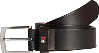 Tommy Hilfiger - Ceinture - Homme - Marron (066 Testa Di Moro-Eur) - FR : 12/2 (Taille fabricant : 100)