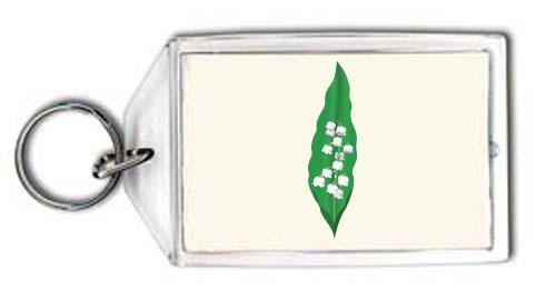 porte clé muguet décoratif