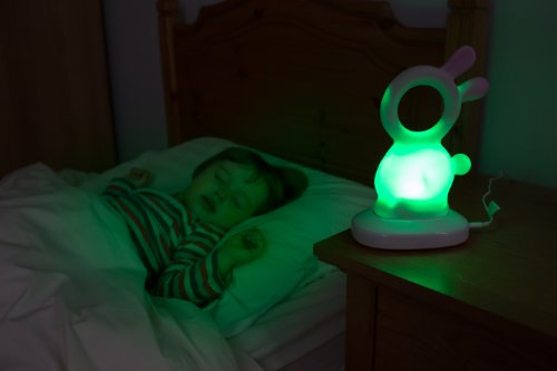 NEW Babies Bedroom Cot Nightlight-Show Sound+Star Projector Musical Lullaby UK