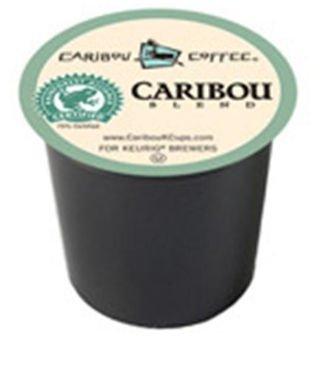 Green Mountain Gourmet Single Cup Coffee Caribou Blend Caribou Coffee 12 K-Cups