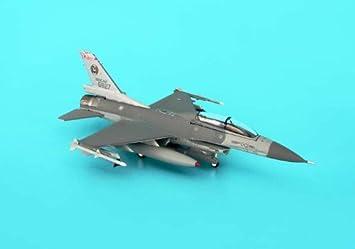 F-16B Blk 20 maquette avion échelle 1:200 ROCAF ChiaYi AFB, 455th TFW, 21st TFG, ROCAF Serial ...