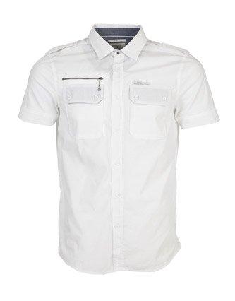 Diesel COtton Shirt - White - Mens