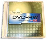 Acro Circle (by Optodisc) 2X 1.4GB Mini DVD-RW 10-Pak in Slim Jewel Cases