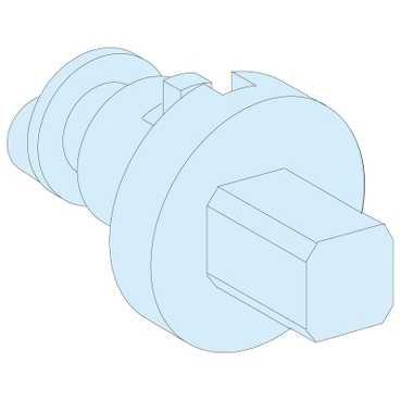 09947-IP557mm Square Plug For Handle