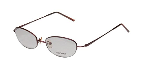 vera-wang-v27-womens-ladies-rx-ready-authentic-designer-half-rim-eyeglasses-spectacles-47-17-133-bur