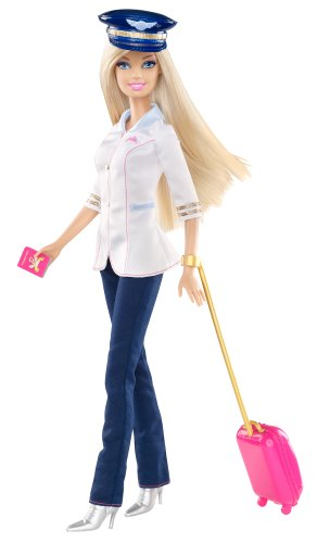 Barbie I Can Be... Pilot Doll (I Can Be Barbie compare prices)